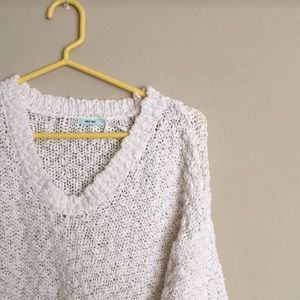 Urban Outfitters Plush White Sweater